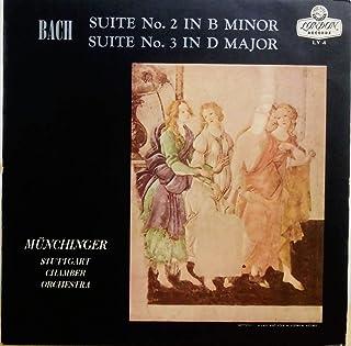 Bach : Suites no.2 & 3 / Karl Munchinger, Stuttgart Chamber Orchestra [Vinyl LP]