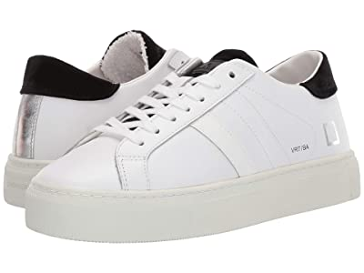 D.A.T.E. Vertigo (White/Black Basic) Women
