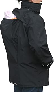 Suse's Kinder Deluxe Babywearing Coat 3 in 1 Jacket for Men and Women Also Works for Maternity
