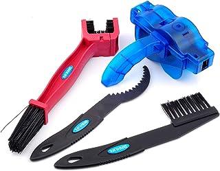 BOBILIFE ابزار تمیز کننده زنجیره ای دوچرخه و موتور سیکلت - کیت تعمیر و نگهداری - پاک کننده زنجیره ای Gear (3 ابزار)