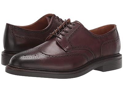 Polo Ralph Lauren Asher Wing Tip (Polo Brown Calf Leather) Men
