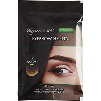 Henna Hair Dye | for upto 50 applications | 5 colors