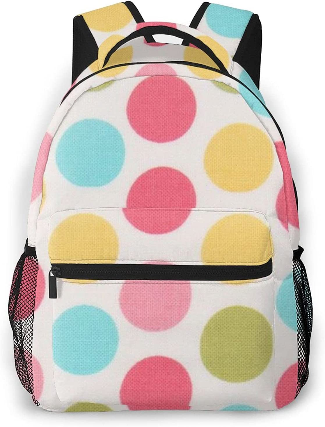 Dot Lightweight Laptop Department store Backpack Casual Or Day Bargain Women For