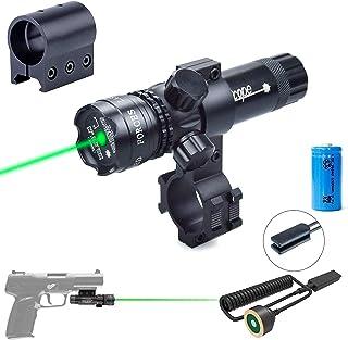 Viiko Green Laser Sight Pointer High Power Lazer Pointer Scope Tactical Pressure Switch Picatinny Lazer Rail Mount Barrel Mount