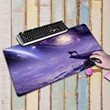 WHFDSBD 900X400Mm Large Sizes Gaming Mousepad Black Mouse Pad Lock Edge Laptop Pc Game Gamer Computer Accessory