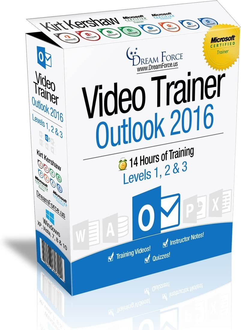 Outlook 2016 Max 52% OFF Training Price reduction Videos – 14 Hours of training