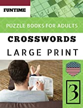 Crossword puzzle books for adults large print: Funtime Crossword Puzzle Book for Adults: 50 Large-Print Easy Puzzles (Telegraph Daily mail Quick Crossword Puzzle)