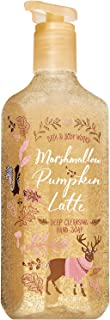 Bath and Body Works MARSHMALLOW PUMPKIN LATTE Deep Cleansing Hand Soap 8 Fluid Ounce (2019 Edition)