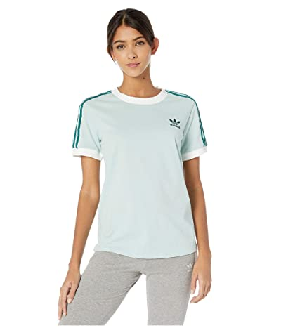 adidas Originals 3-Stripes Tee (Vapour Green) Women