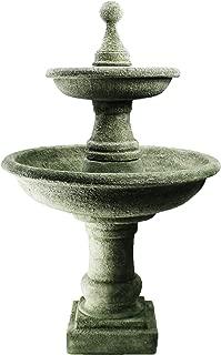 Fleur de Lis Garden Ornaments LLC Water Fountain Ravello Two Tier Fountain