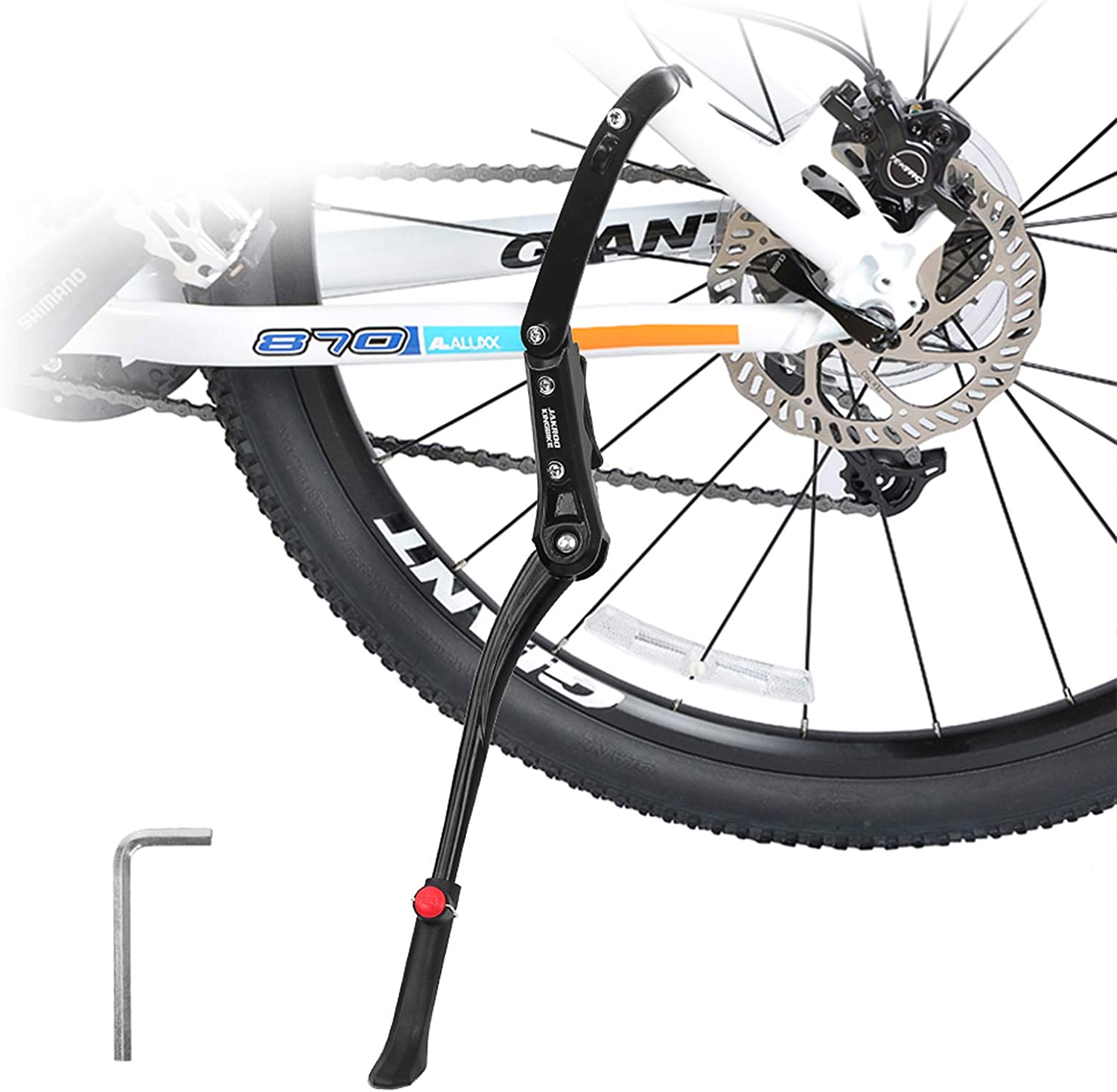 Farway Bike Kickstand Adjustable Fresno Mall Adult Rear Mount Outlet SALE Alloy Aluminum
