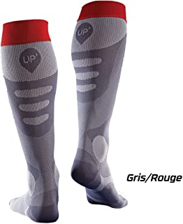 Calcetines de recuperación compresivos Sport UP® Thuasne Sport - Antracita - Talla XL