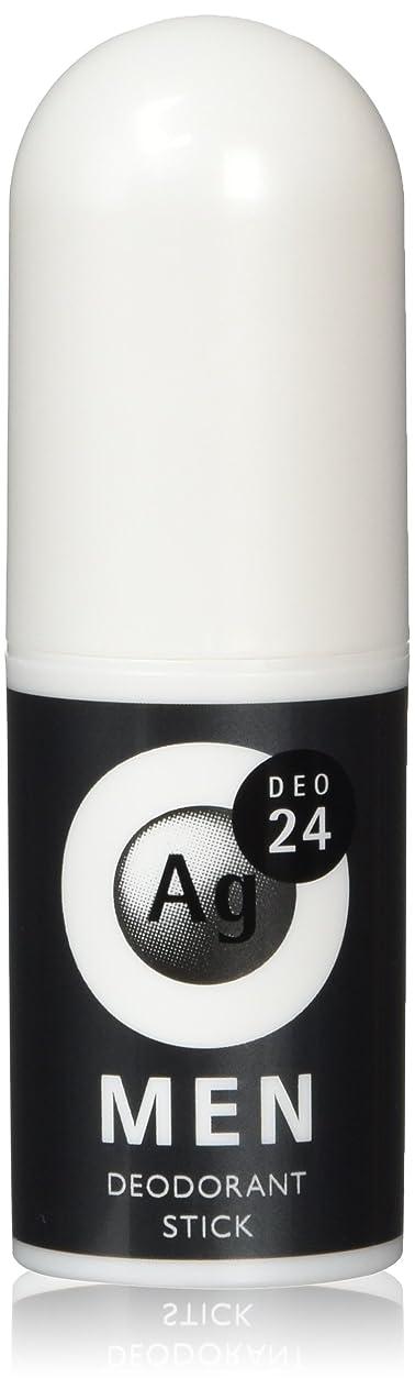 輪郭湾上院議員エージーデオ24 メンズ デオドラントスティック 無香性 20g (医薬部外品)