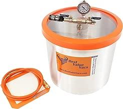 Best Value Vacs 5gvac Vacuum and Degassing Chambers, 5 gal Capacity