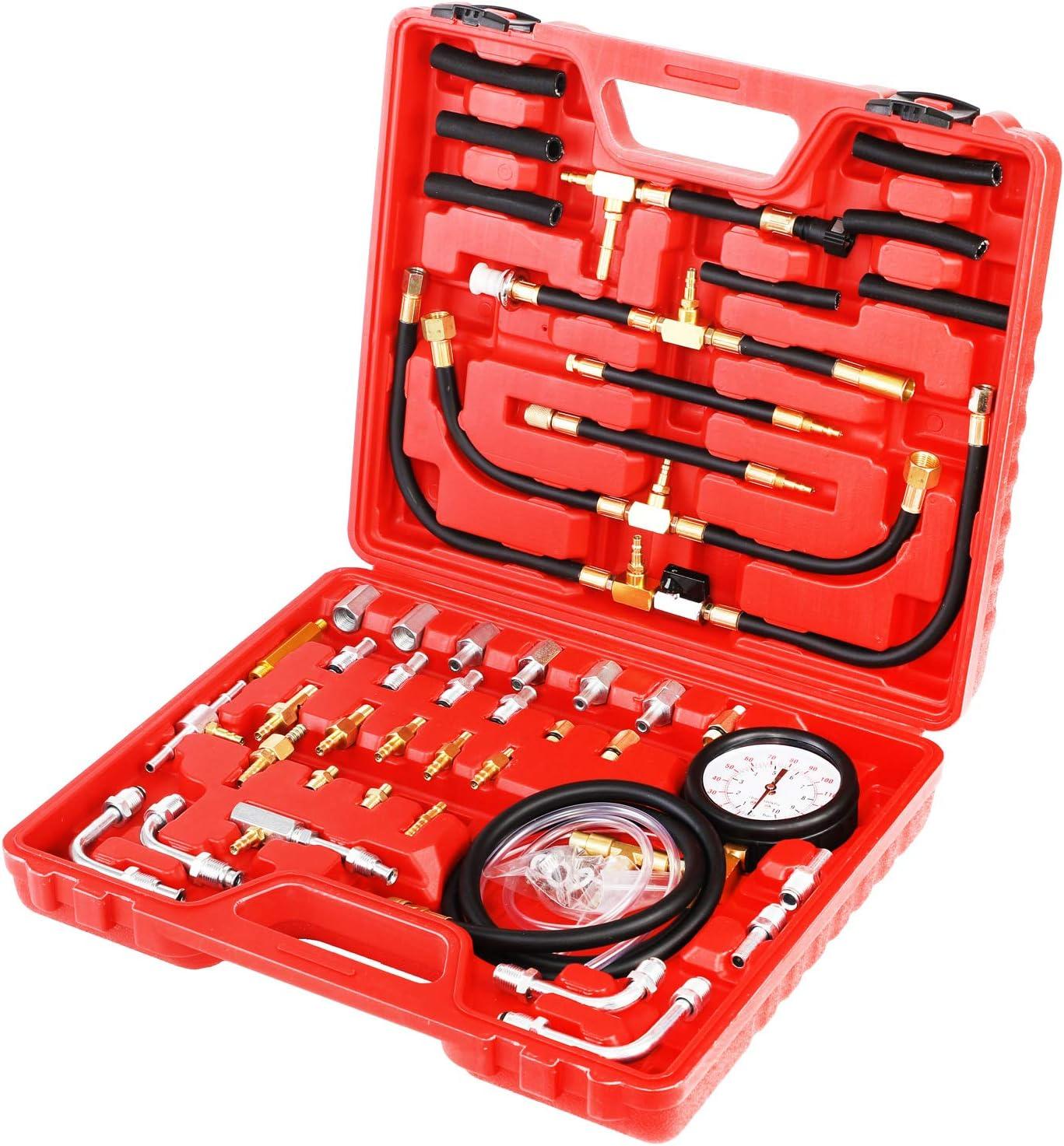 JIFETOR Latest item Fuel Injection Pump Pressure Gasol Lowest price challenge Gauge Tester Kit Car