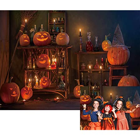 Vinyl Backdrop Background for Photography 7x5ft Photo Background Halloween Party Backdrops Customized