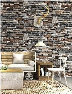 HaokHome 5703 Vintage Faux Brick Wallpaper 20.8