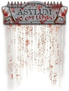 Asylum Bloody Doorway Curtain