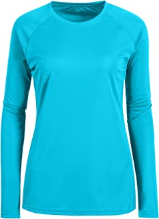 Women's UPF 50+ Sun Protection Long/Short Sleeve T-Shirt Performance Active Top Golf Shirts Workout Sports Leisure Slim Fit
