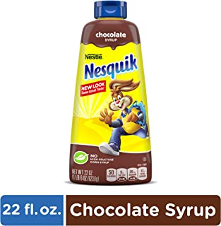 NesQuik Chocolate Syrup, 22 oz