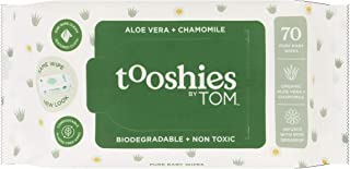Tooshies by TOM Fragrance Free 70 Pure Baby Wipes, 70 count