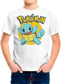 Camiseta Niño - Unisex Pokémon, Squirtle