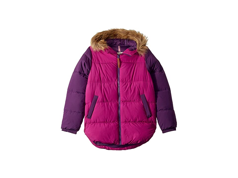 Burton Kids Ramblewild Jacket (Little Kids/Big Kids) (Grapeseed/Concord) Girl