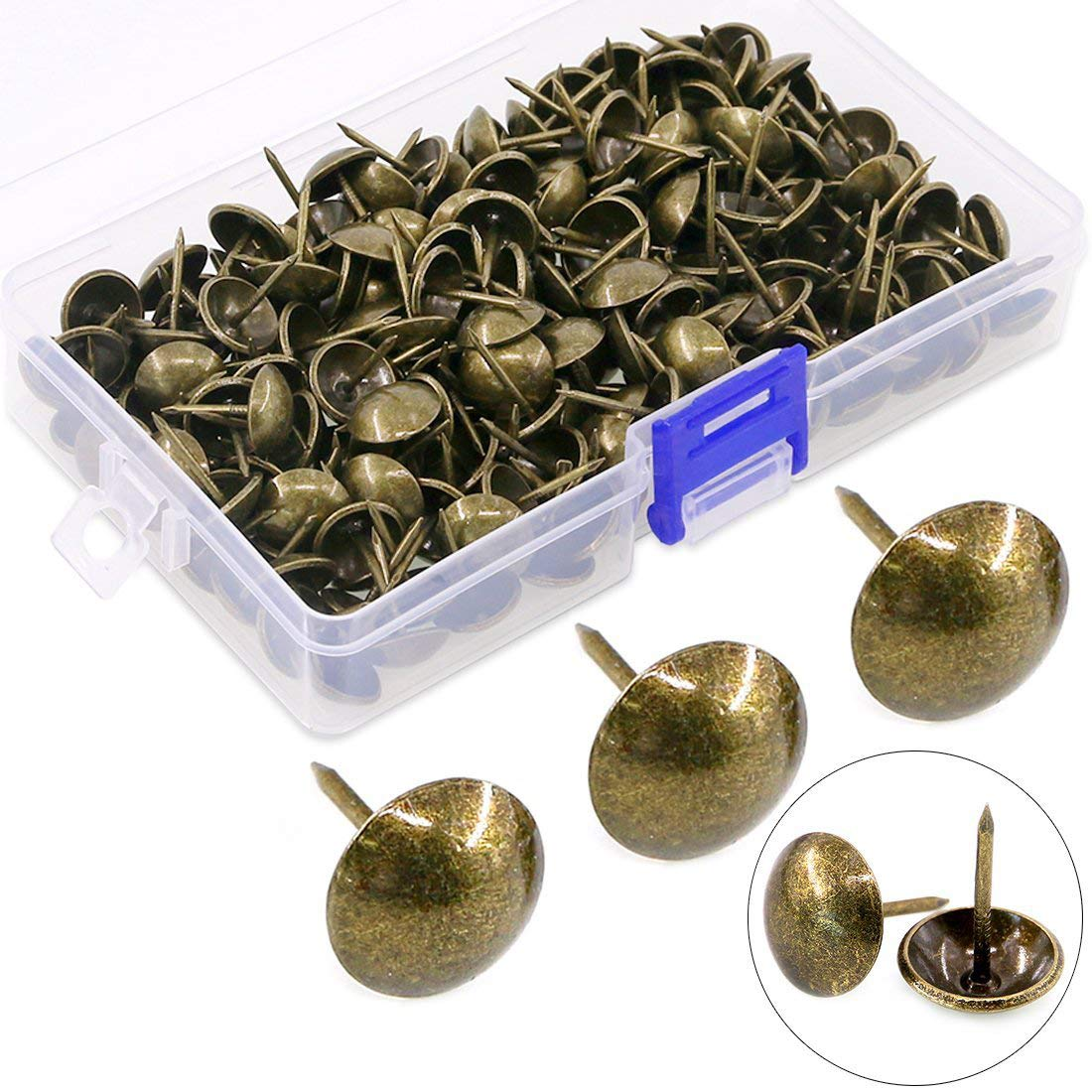 Hilitchi 200-Pieces 9 16'' Portland Denver Mall Mall 14mm Nails Antique Tacks Upholstery