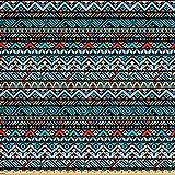 Lunarable Indianer Stoff von The Yard, buntes, ethnisches