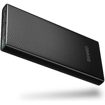BANNIO Batería Externa 10000mAh,Mini Cargador Portátil Móvil Power ...