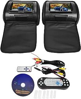 DVD Videospeler, Controle Gamepad 300 32 Bit Games Afstandsbediening Auto Digitale Scherm Hoofdsteun voor Engels gebruiker...
