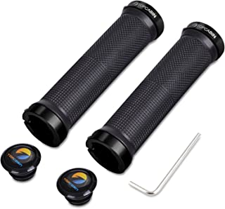 TOPCABIN Bicycle Grips,Double Lock on Locking Bicycle...