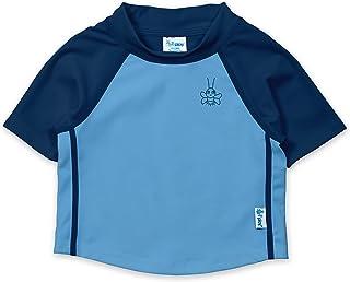 i play. Baby Boys Short Sleeve Rashguard Shirt