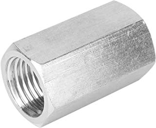 """Roestvrijstalen staafadapter die past Nauwkeurige schroefdraad zeskantmoer voor pijpverbinding voor gasleiding(1/8"""")"""