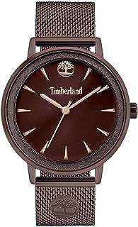 Timberland Women's Analogue Quartz Watch with Metal Strap TBL15961MYBN.12MM