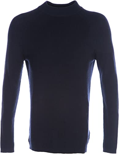Selected Homme Turtle Neck Knitwear in Navy