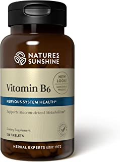 Nature's Sunshine Vitamin B6 120 Tablets