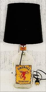 Fireball Cinnamon Whisky Bottle Table Lamp