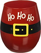 Ho Ho Ho 16 Oz. Stemless Wine Glass