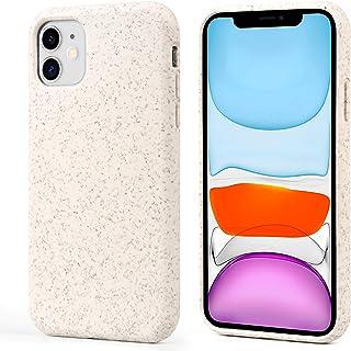 Migeec Carcasa para iPhone 11, 100% compostable y biodegradable, respetuosa con el medio ambiente, hecha de plantas, funda...