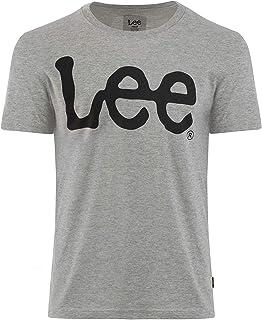 LEE Men's Short Sleeve Crew Neck Graphic Tee Shirt