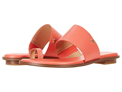 MICHAEL Michael Kors August Flat Sandal (Pink Grapefruit) Women