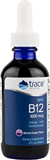 Trace Minerals Liquid Ionic B12 1,000 mcg Supplement, 2 Ounce
