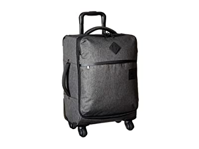 Herschel Supply Co. Highland Carry-On (Black Crosshatch) Carry on Luggage