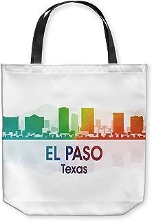 DiaNoche Designs Tote Shoulder Bags by Angelina Vick - City I El Paso Texas