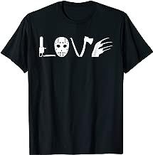 I love Horror Movies T-Shirt - Scary Movie Shirt