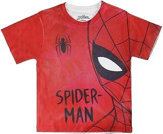 Spiderman S0713669 Camiseta, Rojo, 6 años Unisex niños