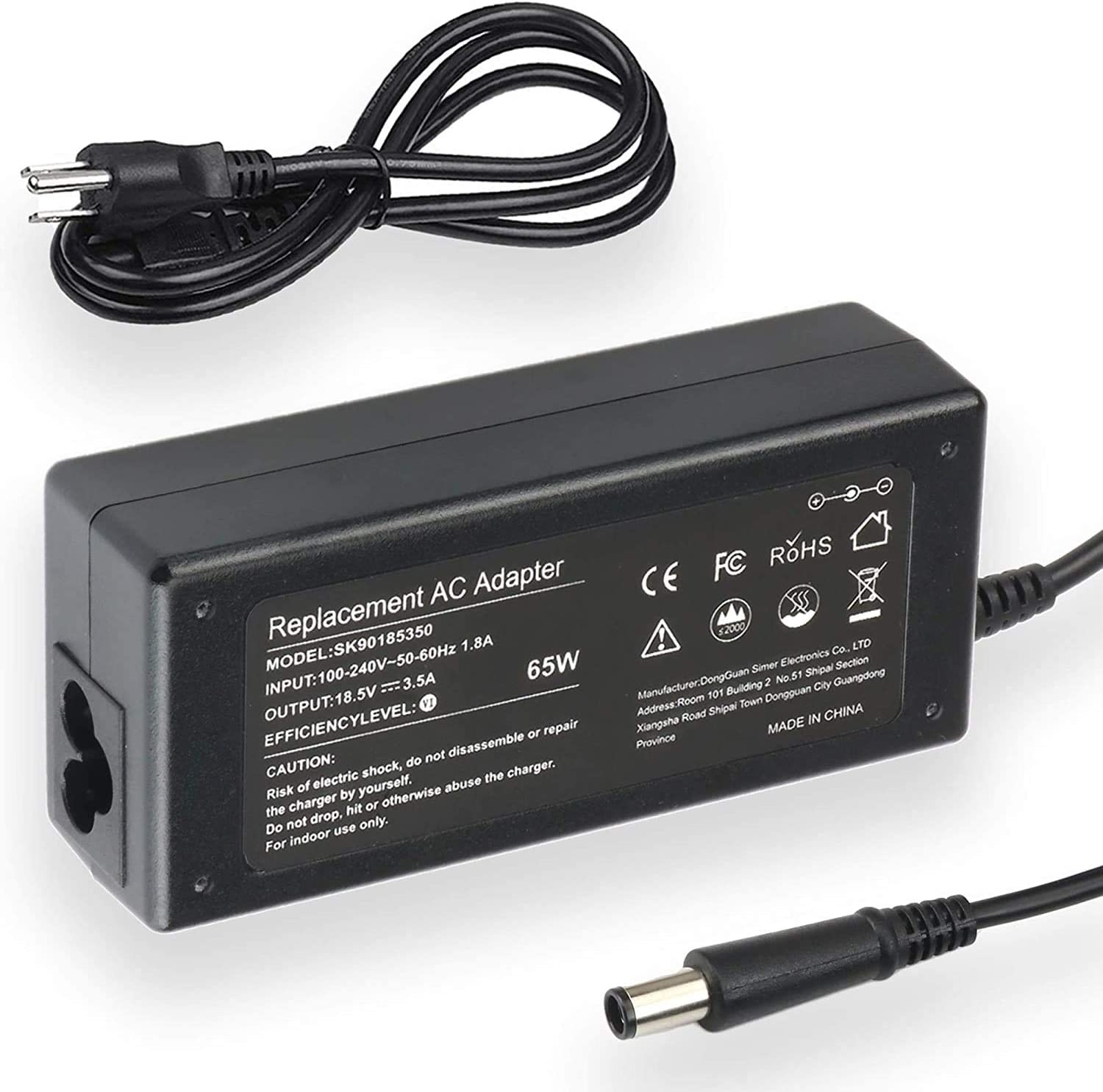 NEW Ac Adapter Charger Courier shipping Arlington Mall free replacement HP Pavilion for g7- g7-1260us