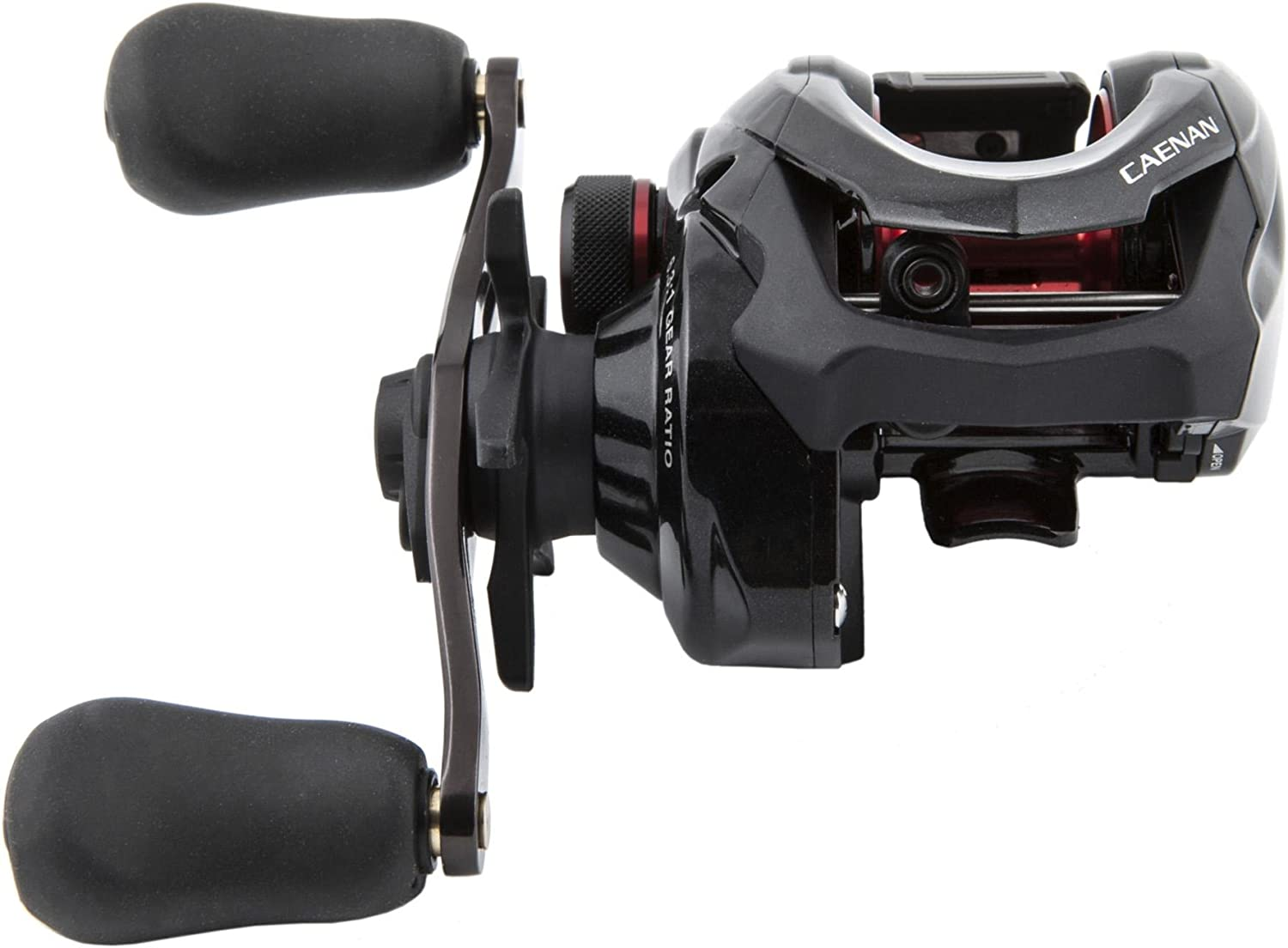 Shimano Caenan Low Profile Baitcast Reel 6.3 1 Gear Ratio, 70cm Retrieve Rate, 5kg Max Drag, Right Hand, Boxed
