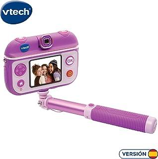 VTech- Kidizoom SelfieCam Cámara de Fotos Color Morado única (3480-193722)